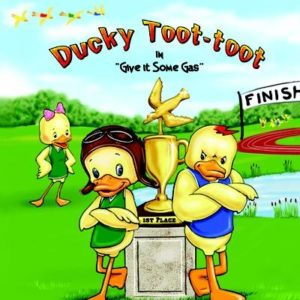 A Story About A Little Duck That Toots