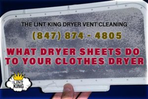 Cleaning a clothes dryer lint trap